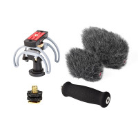 Windshield and Suspension Audio Kit (HD) for Zoom H6 Field Recorder