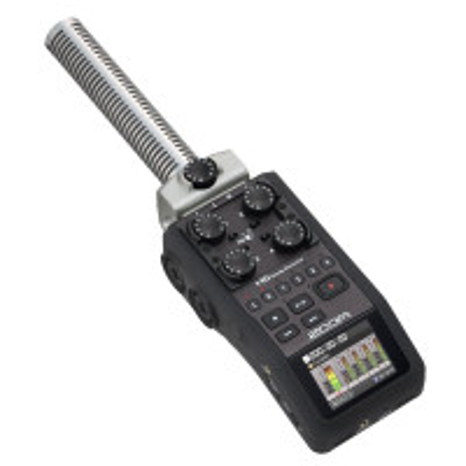 ZOOM UK ZACH6SG SGH-6 Shotgun Capsule for Zoom H5/H6/Q8 Handy Recorders