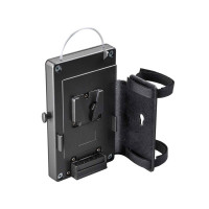 DEDO LIGHTS DLBCA2-NPF Belt adapter for 7,2V NP-F batteries with holding plate for DT2.x-BAT/-BI-BAT