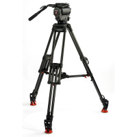 OCONNOR C1030DS-30L-F OConnor 1030DS Head & 30L Tripod with Floor Spreader & Case