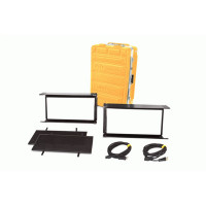 KINO FLO KIT-DL22X-230U Diva-Lite LED 20 DMX Kit, Univ 230U (2-Unit) w/ Flight Case