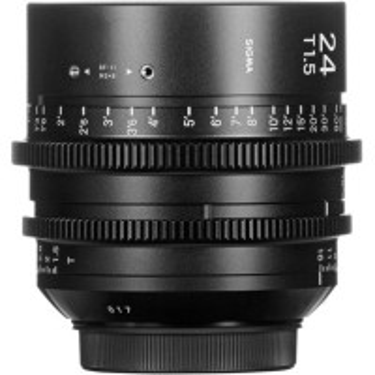 SIGMA 401966 Sigma 24mm T1.5 FF High-Speed Prime (EF Mount)