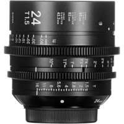 SIGMA 40M968 Sigma 24mm T1.5 FF F/AP (Metric)