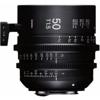 SIGMA 311968 Sigma 50mm T1.5 FF High-Speed Prime (PL Mount)
