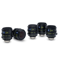 ZEISS SUPREME PRIMES 5 LENS SET ZEISS Supreme Primes 5 Lens Set