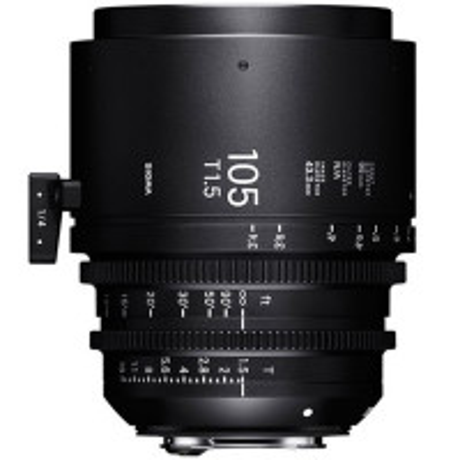 SIGMA 25D968 Sigma 105mm T1.5 FF Fully Luminous Metric PL