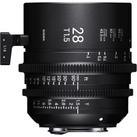SIGMA 44F966 Sigma 28mm T1.5 Fully Luminous FF  (EF Mount)