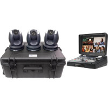 DATAVIDEO DATA-PTC150TL3/HS1600KIT DATAVIDEO PTC-150TL - 3 Camera Kit with HS-1600T