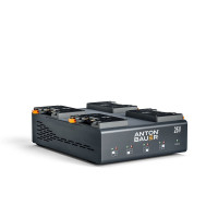 ANTON BAUER 26VLP4, 4 POSITION GOLD MOUNT PLUS CHARGER Anton Bauer Charger, Dual Voltage (26V and 14V), 4 position