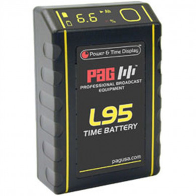 PAG L95 Time Battery 14.8V 6.5Ah V-Mount