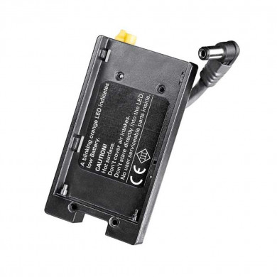 Dedolight DLOBML-BS Battery Adapter Plate for Sony NP-F Batteries