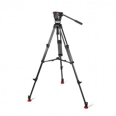 1011 System Ace L MS CF Tripod Head and Legs