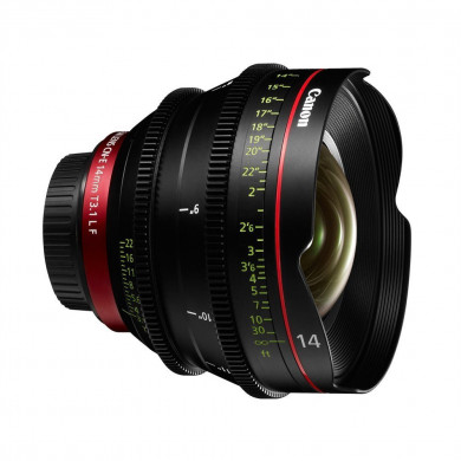Canon CN-E 14mm T3.1 L F (EF Mount) Cine Prime Lens