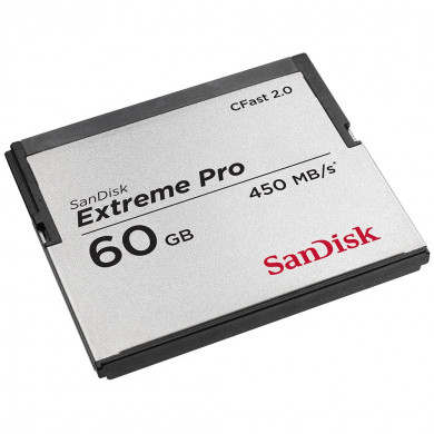 Sandisk Extreme Pro 60GB CFast 2.0 Card SDCFSP-060G-X46