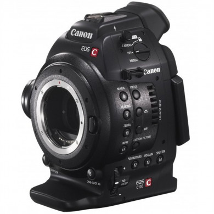Canon EOS C100 with DAF (Dual Pixel CMOS Auto-Focus)