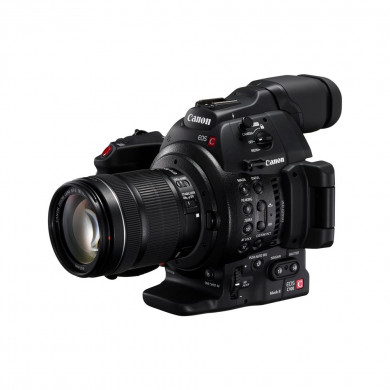 Canon EOS C100 Mark II + 18-135MM STM LENS