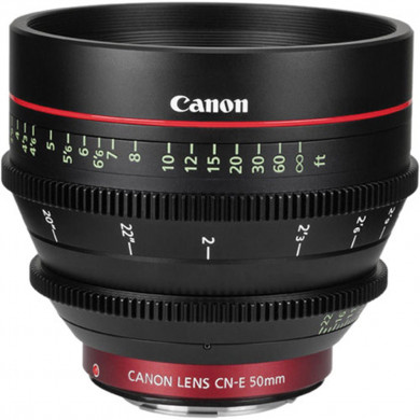 Canon CN-E 50mm T1.3 L F Cine Lens (Canon EF Mount)