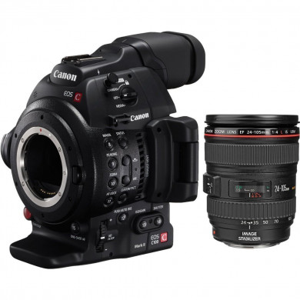 Canon EOS C100 Mark II + 24-105mm Lens