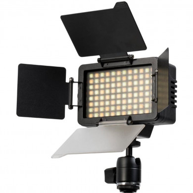 Alphatron TriStar 4 Bi-Colour On-camera LED light