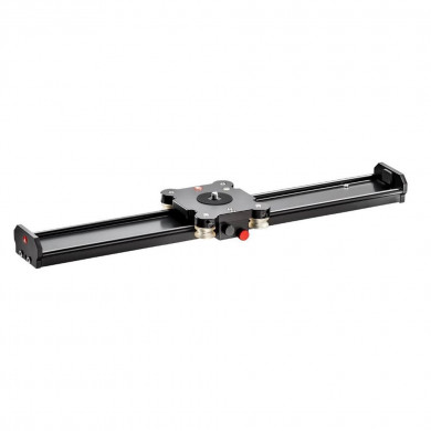 Manfrotto Slider 100cm with MVH500AH Fluid Head Kit