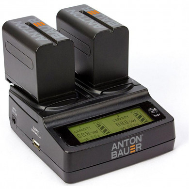 Anton Bauer 7.2V Sony L-Series NP-F Dual Charger