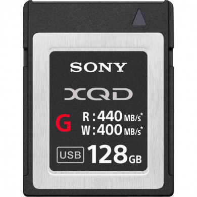 128GB XQD G Series Memory Card