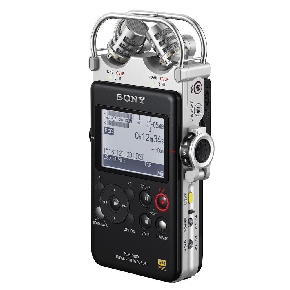 SONY - PCM-D100 High Resolution portable Audio
