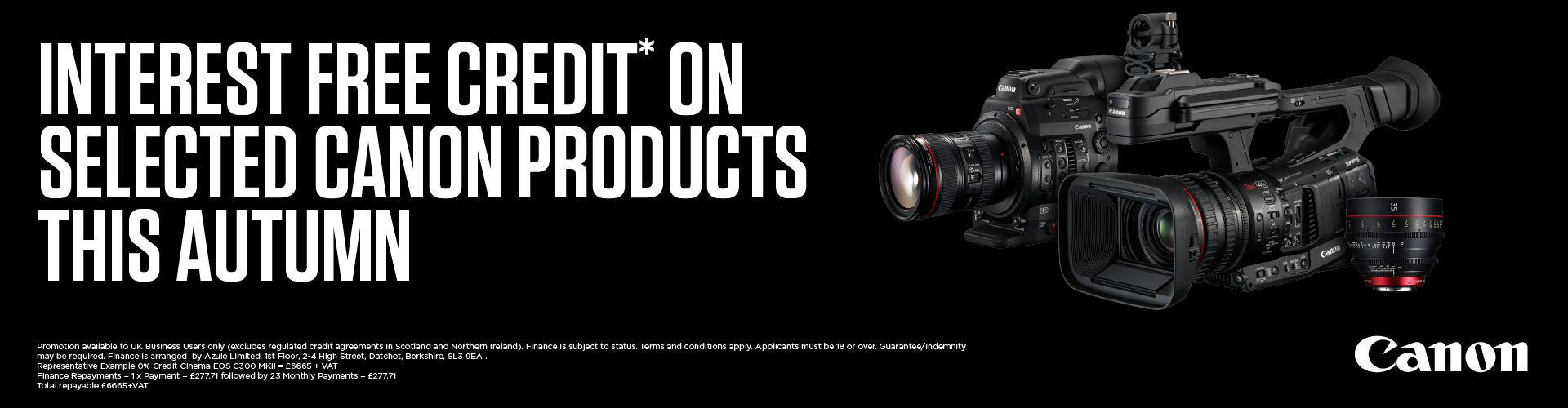 Canon autumn offers