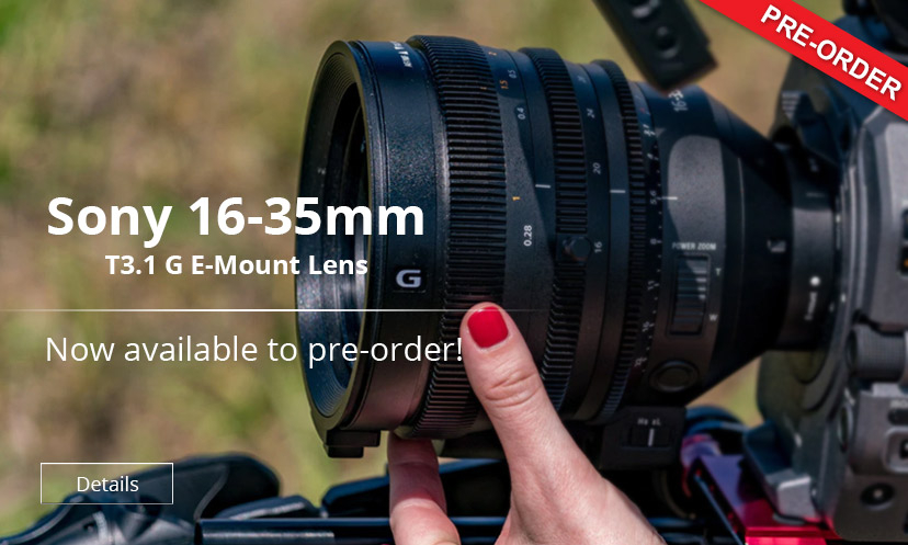 Sony FE Cine 16-35mm T3.1 G E-Mount Lens