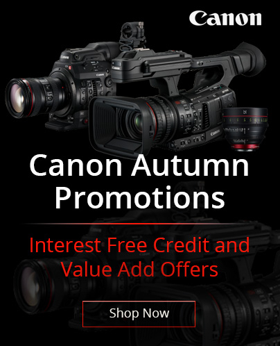 Canon Autumn Promotions