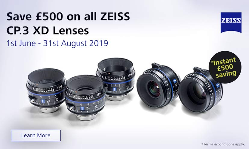 Save 500 on ZEISS CP.3 XD lenses