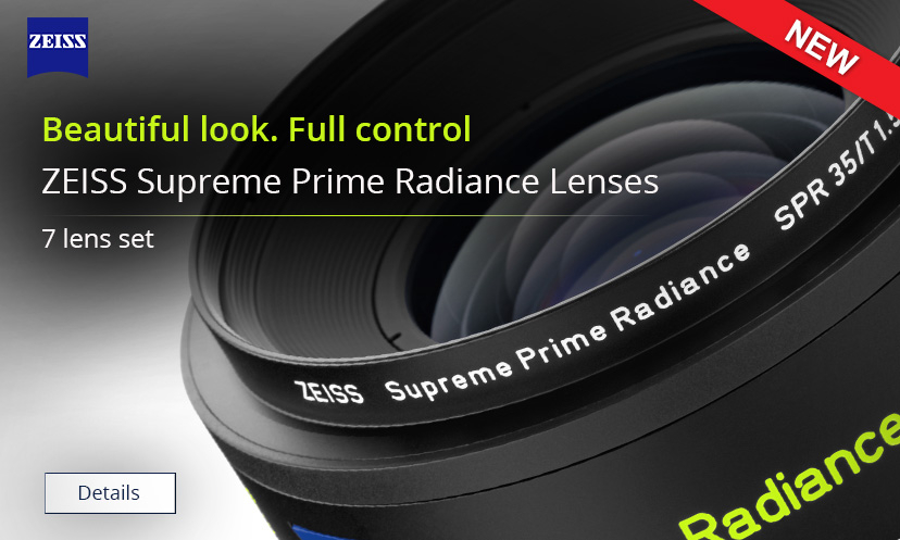 zeiss supreme prime radiance lens set